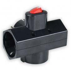 Adaptor Ρεύματος Sonora CPAB301 3 Θέσεων Με Διακόπτη Μαύρος