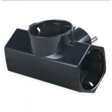 Adaptor Ρεύματος Sonora CPAB300 3 Θέσεων Μαύρος