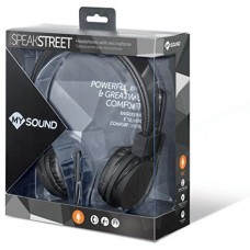 Headset Meliconi MySound Speak Street Μαύρο