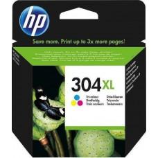 Μελάνι HP 304 XL Color N9K07AE