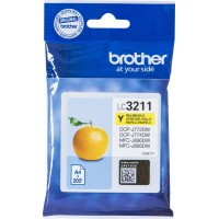 Μελάνι Brother LC-3211Y Yellow