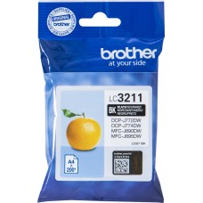 Μελάνι Brother LC-3211BK Black