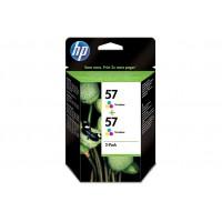 Μελάνι HP 57 Color 2-Pack
