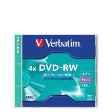 DVD-RW Verbatim 4.7GB 4X 120min