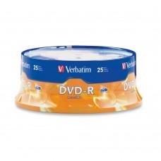 DVD-R Verbatim 4.7GB 16X 120min 25T