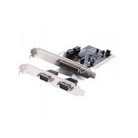 Κάρτα Parallel + 2 Ports Serial Approx appPCI1P2SV2