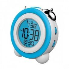 Ρολόι Ψηφιακό-Ξυπνητήρι Daewoo DCD-220BL (Γαλάζιο-Λευκό)