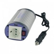 Inverter DC/AC Albrecht A301M 150W 12V USB OVAL