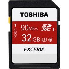 Κάρτα Μνήμης SDHC UHS-I Toshiba 32GB THN-N302R0320E4 Class10