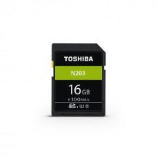 Κάρτα Μνήμης SDHC UHS-I Toshiba 16GB THN-N203N0160E4 Class10