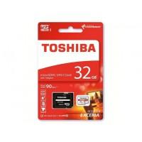 Κάρτα Μνήμης MicroSDHC UHS-I U3 Toshiba M302-EA 32GB Class10 + Adaptor