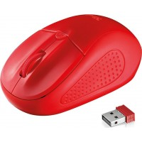 Mouse Trust Primo Wireless Κόκκινο