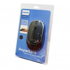 Mouse Philips SPK7314 Wireless Μαύρο-Γκρί