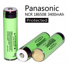 Επαναφορτιζόμενη Μπαταρία Panasonic 18650 3400mAh