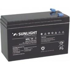 Μπαταρία Μολύβδου Sunlight 12V 7.0Ah