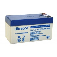 Μπαταρία Μολύβδου Ultracell 12V 1.3Ah