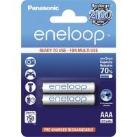 Επαναφορτιζόμενη Μπαταρία Panasonic Eneloop  AAA 1.2V 750mAh