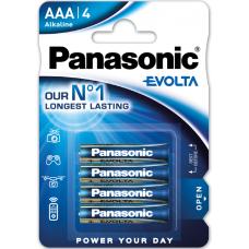 Αλκαλική Μπαταρία Panasonic Evolta AAA 1.5V