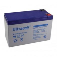 Μπαταρία Μολύβδου Ultracell 12V 7.0Ah