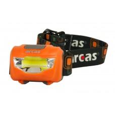 Φακός Κεφαλής Arcas 3W 307 10014 Πορτοκαλί