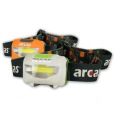 Φακός Κεφαλής Arcas 3W 307 10014 Λευκός