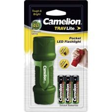 Φακός Camelion TRAVLite HP7011-3R03PBP Πράσινο