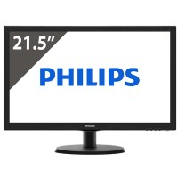 Οθόνη Philips V-Line LED 223V5LHSB/00 21.5""
