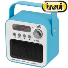 Φορητό Ραδιόφωνο Trevi DR 750 BT Γαλάζιο