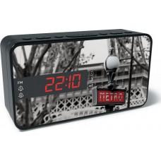 Ραδιόφωνο Με Ρολόι-Ξυπνητήρι BigBen RR15 Metro