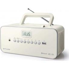 Φορητό Ραδιόφωνο-CD/MP3/Bluetooth Muse M-30 BTN Μπεζ