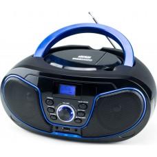Φορητό Ραδιόφωνο/CD/MP3/USB Daewoo DBU-62BL Μπλε