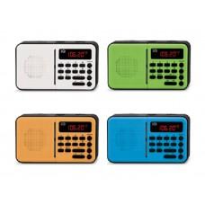 Φορητό Ραδιόφωνο IQ PR-140 Μπλέ