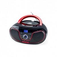 Φορητό Ραδιόφωνο/CD/MP3/USB Daewoo DBU-62R Κόκκινο