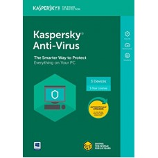 Antivirus Kaspersky 2018 3-DS 1 Year Box