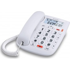 Τηλεφωνική Συσκευή Alcatel TMAX20 Λευκή