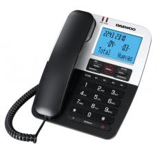Τηλεφωνική Συσκευή Daewoo DTC-410 Μαύρη-Ασημί
