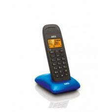 Ασύρματο Τηλέφωνο AEG D81 Μαύρο-Μπλε
