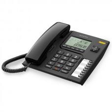 Τηλεφωνική Συσκευή Alcatel T76 Μαύρη
