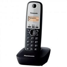 Ασύρματο Τηλέφωνο Panasonic KX-TG1611GR Μαύρο-Ασημί