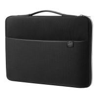 """Τσάντα Μεταφοράς Laptop HP Carry Sleeve 15.6"""" Black-Silver (3XD36AA)"""