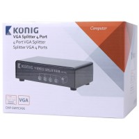 Splitter VGA KONIG CMP-SWITCH95 4 Θυρών