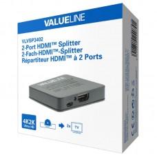 Splitter HDMI Valueline VLVSP3402 2 Θυρών